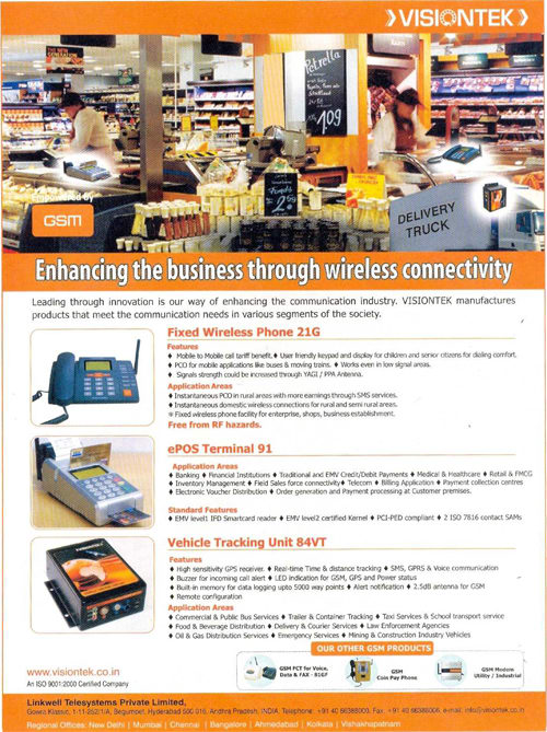 Enhancing business through wireless connectivity