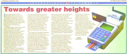 Towards Greater Heights